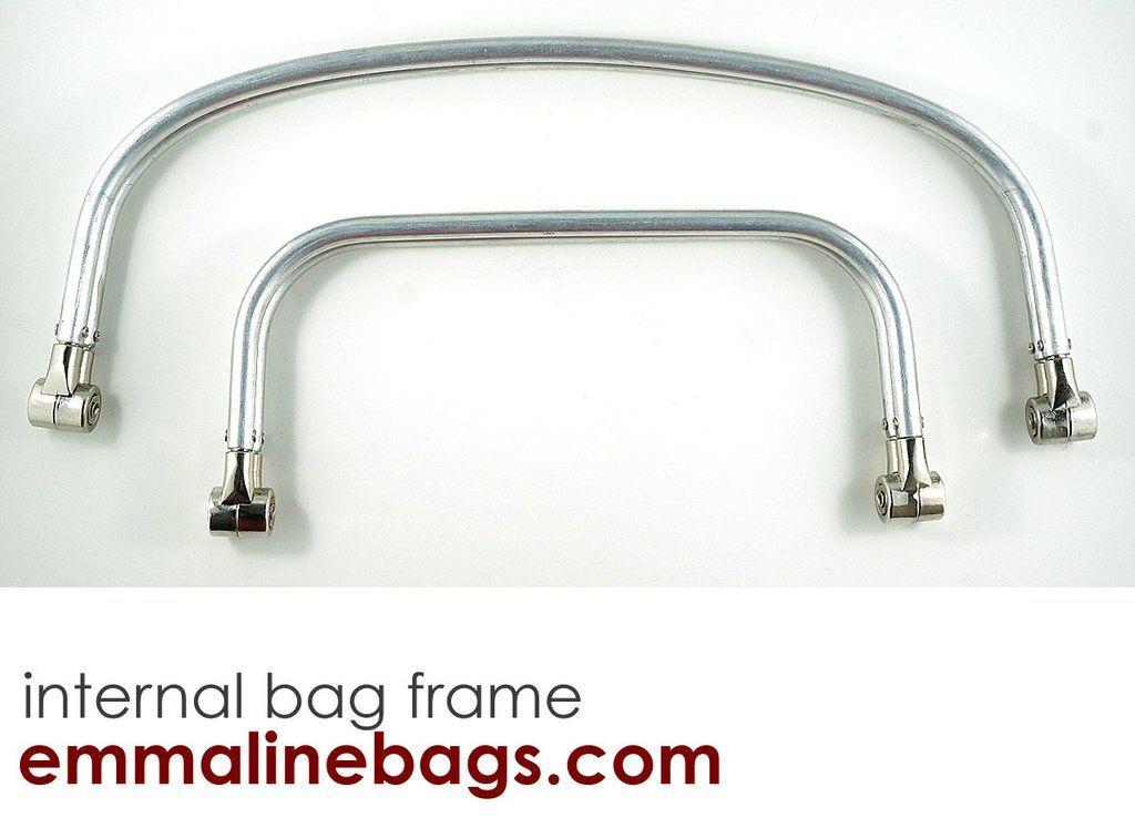 Internal Tubular Bag Frame Large 12 Carpet Bag Emmaline Bags Bags