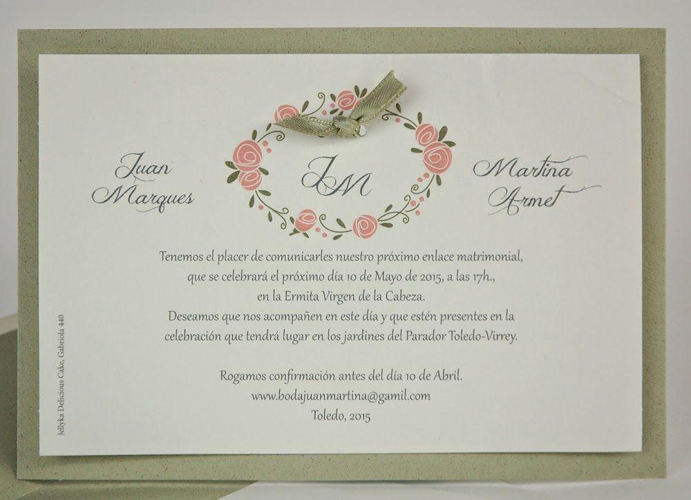 You and me: las invitaciones de tu boda