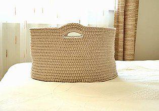 Košíky - Bambulo prírodný veľký - 5707223_