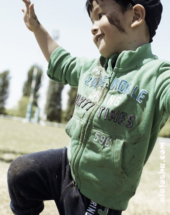 "ALALOSHA: VOGUE ENFANTS: United Colors of Benetton ""Dirt FUN"""