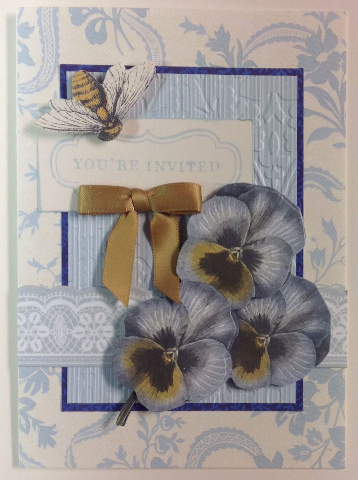 Card Making Party Ideas Part - 46: Invite To Card Making Party.