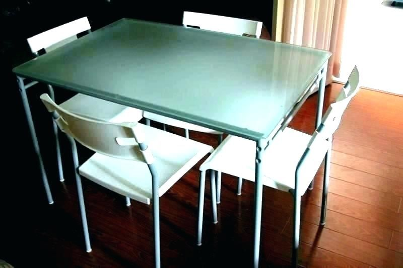 6 Person Dining Table Set White Glass Dining Table Glass Round