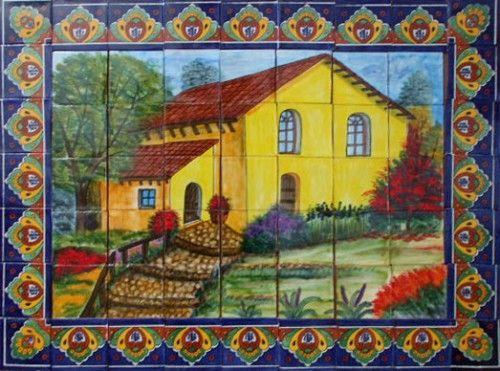 Kitchen Tile Mural | Tile murals, Kitchen decor and Kitchens