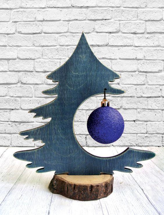Photo of Kühle DIY hölzerne Weihnachtsbaum-Ideen. – Christmas Deesserts