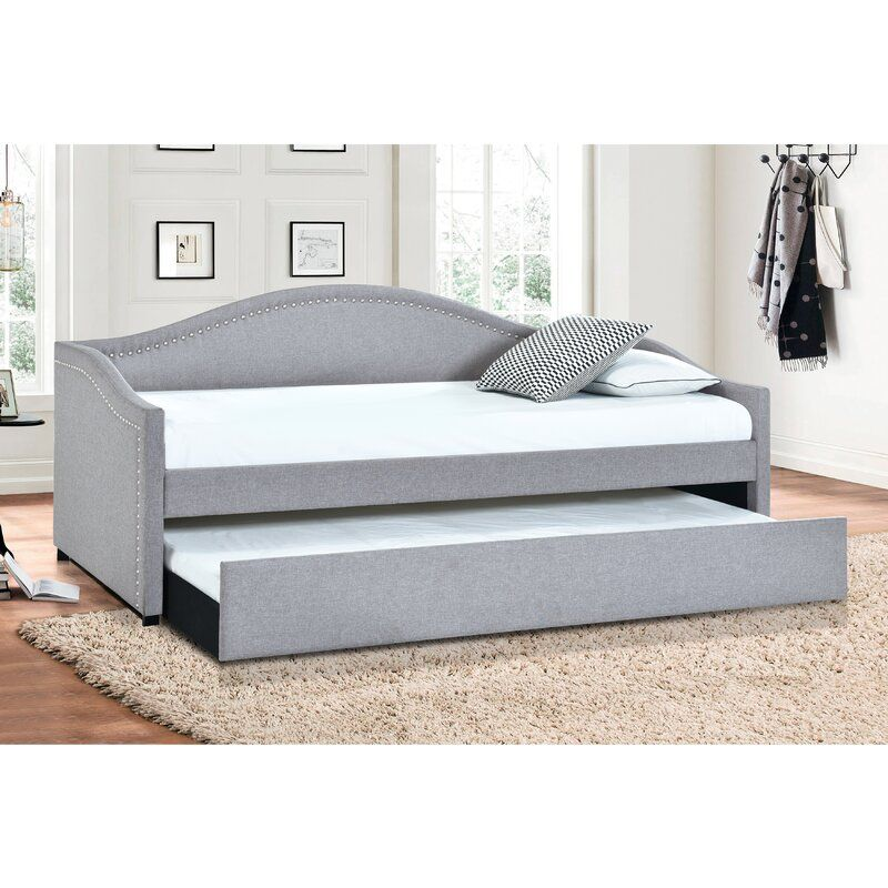 Feuerstein Twin Daybed With Trundle Twin Daybed With Trundle Daybed With Trundle Trundle Mattress Daybed with trundle with mattress
