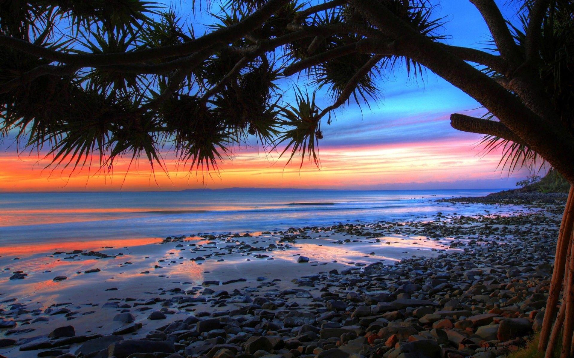 HD Laptop Backgrounds K Wallpaper | wallpapers in 2019 | Beach sunset wallpaper, Sunset ...