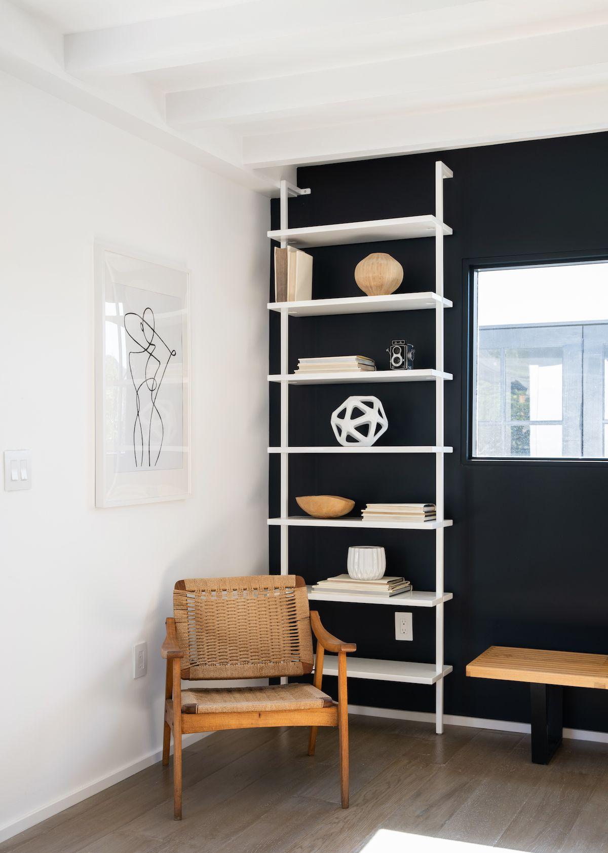A Scandinavian Modern Home In La Rue Home Office Design Modern House Vintage Home Offices
