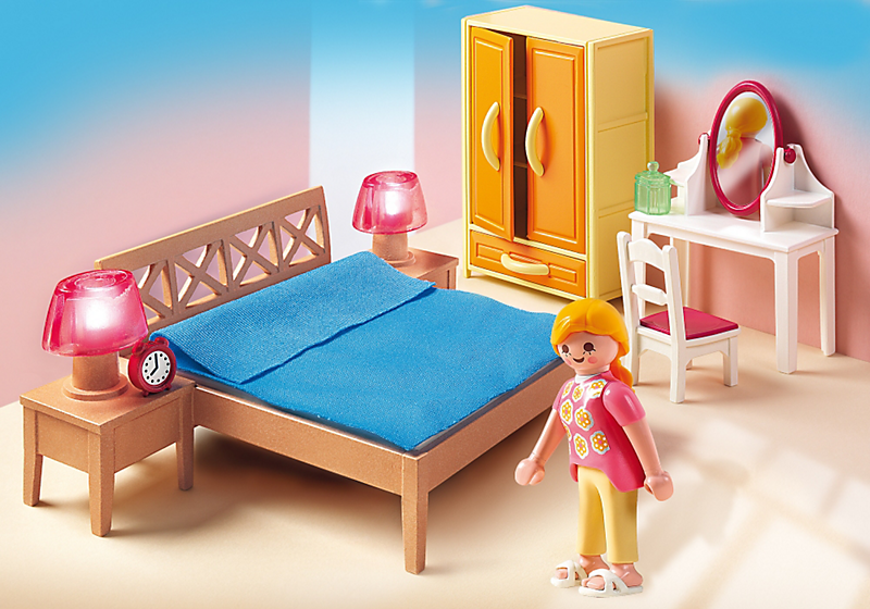 Dollhouse: 5331 - Slaapkamer van de ouders | Playmobil | Pinterest ...