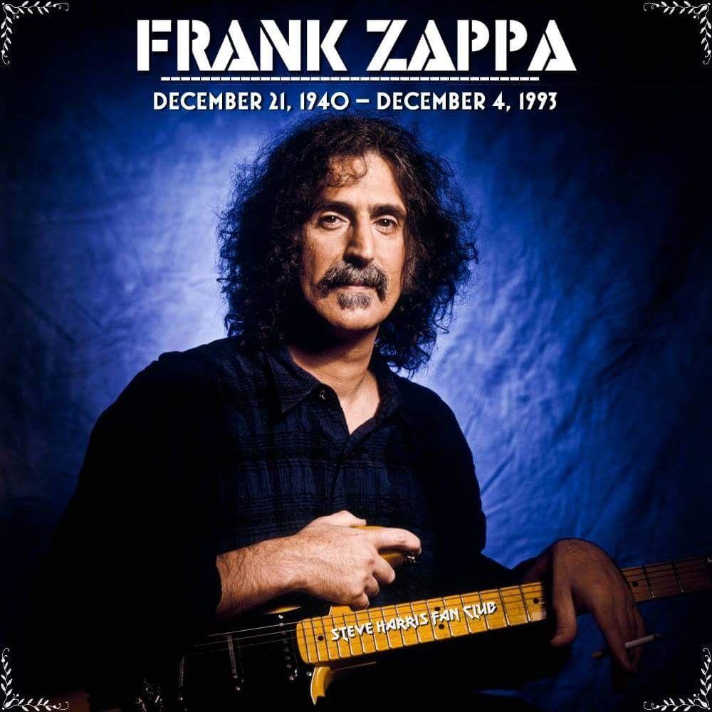 Frank Zappa Happy Birthday with happy 77th, birthday frank zappa, december 21st, 1940 - december