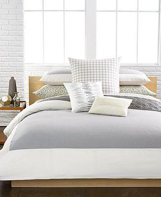 calvin klein camden comforter and duvet sets bedding collections bed u0026 bath macyu0027s bridal and wedding registry