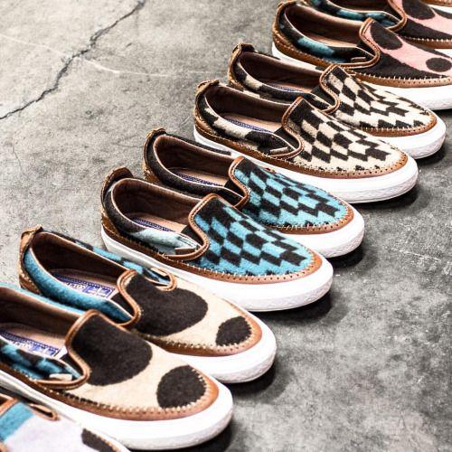 Vans x Taka Hayashi Pendleton Collection