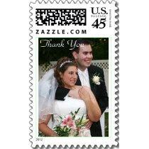 WeddingPhoto Postage Stamps