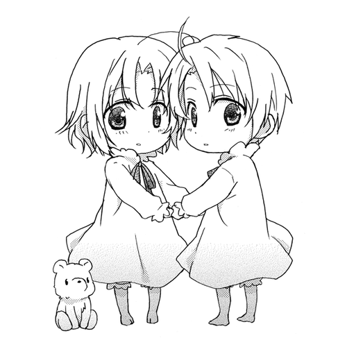 Hetalia America and Canada Coloring Pages   Anime   Pinterest ...