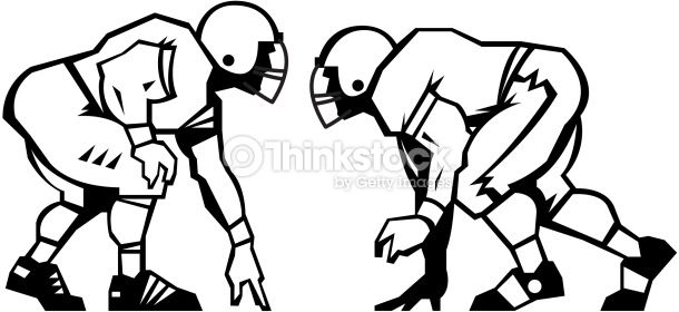 image result for lineman football player vector clipart senior rh pinterest com au