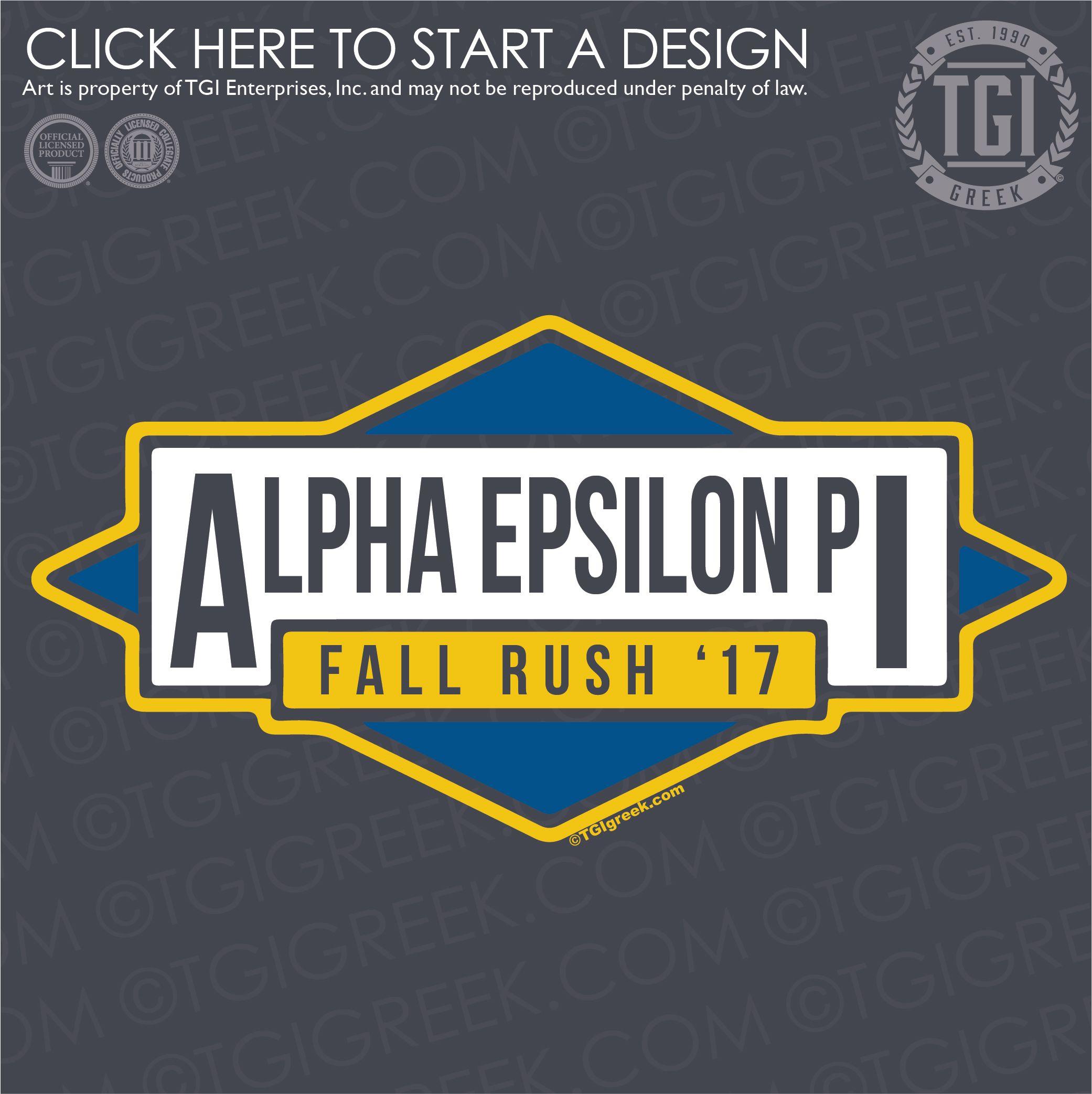 Alpha Epsilon Pi Ae Fall Rush Fraternity Rush Rush Shirt
