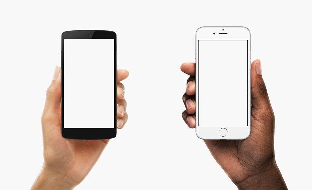 Facebook S Device Hands Mockups Mockupworld Phone Mockup Hand Holding Phone Phone