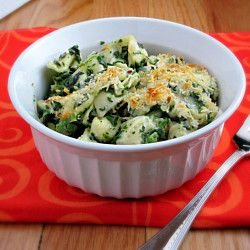 Baked Tortellini with Spinach | Alida's Kitchen