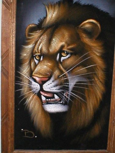 Image from http://cdnimg.visualizeus.com/thumbs/9d/6f/animal,cats,lion,painting,velvet-9d6f071026e91aeb9e458fedc9a6bc08_h.jpg.