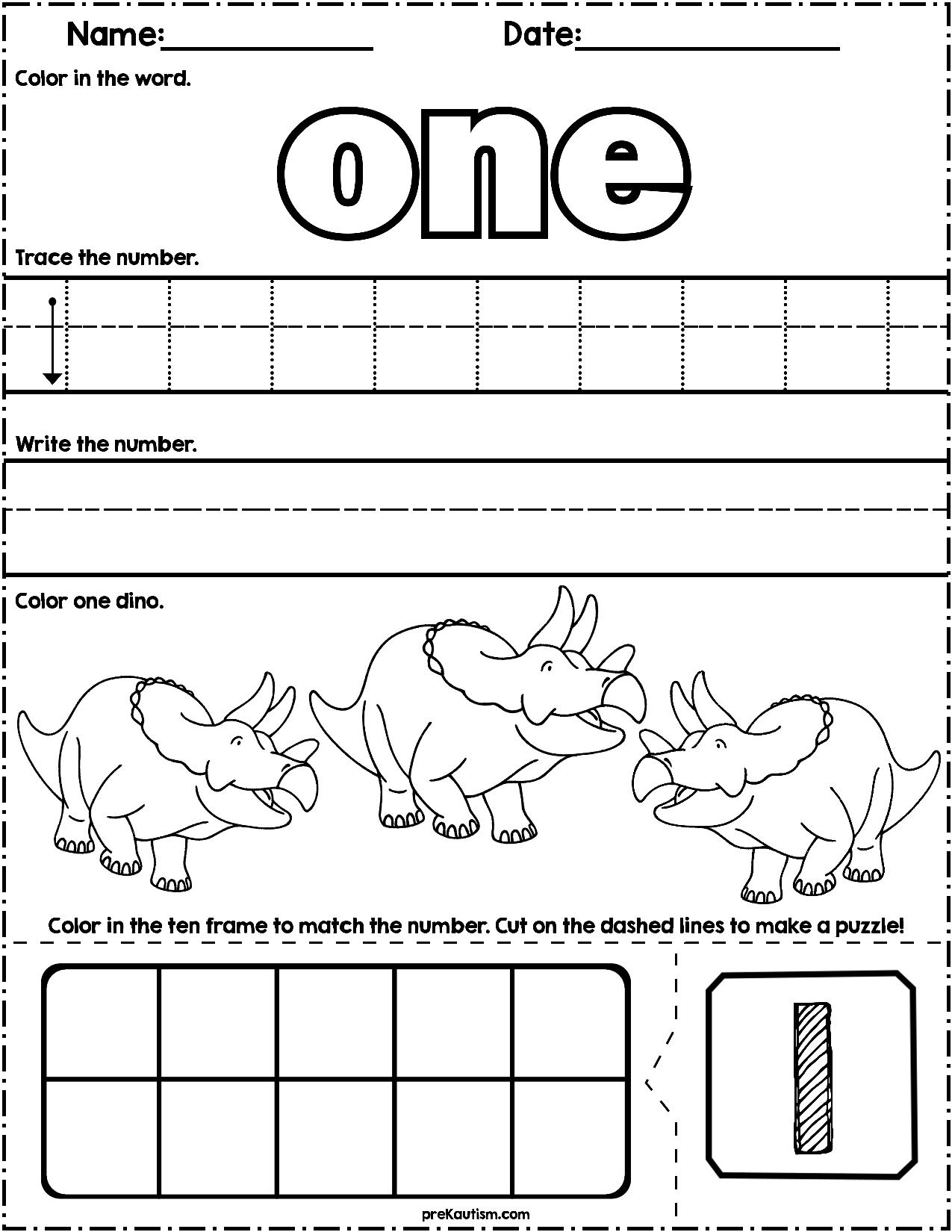 Free Preschool Activities In