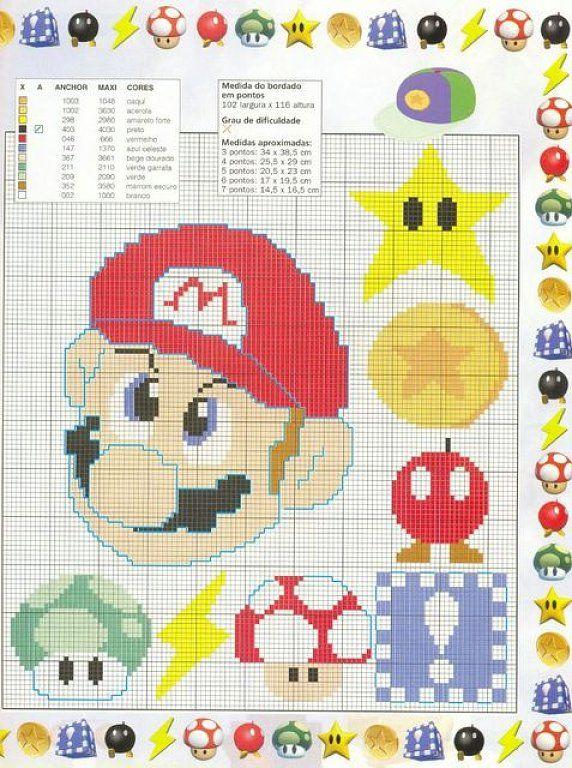 Luciane ponto cruz: graficos do super mario bros   Mario   Pinterest ...