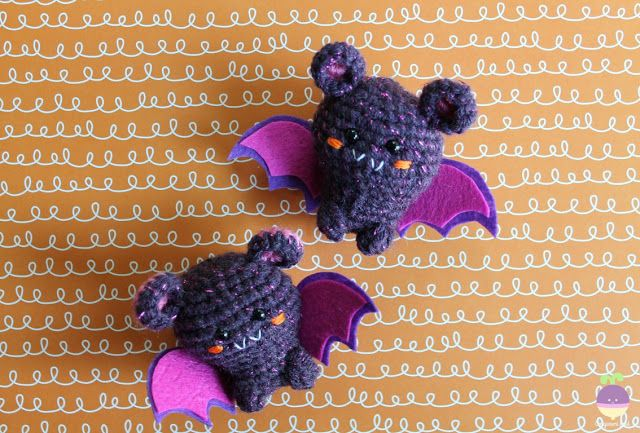 Amigurumi Halloween Free : Amigurumi food: halloween is coming! amigurumi bats free crochet