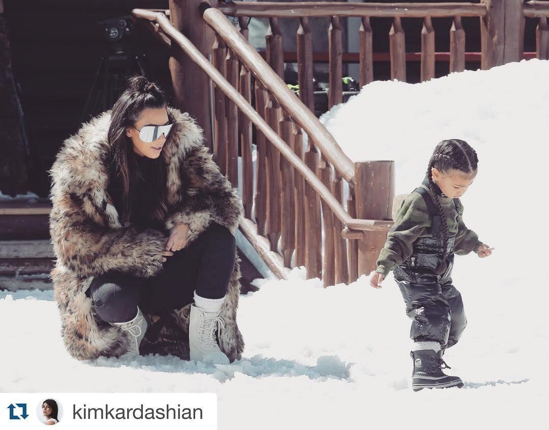 #family #love #vail #memories #proudmama #Repost @kimkardashian   #krisjenner #krisisms