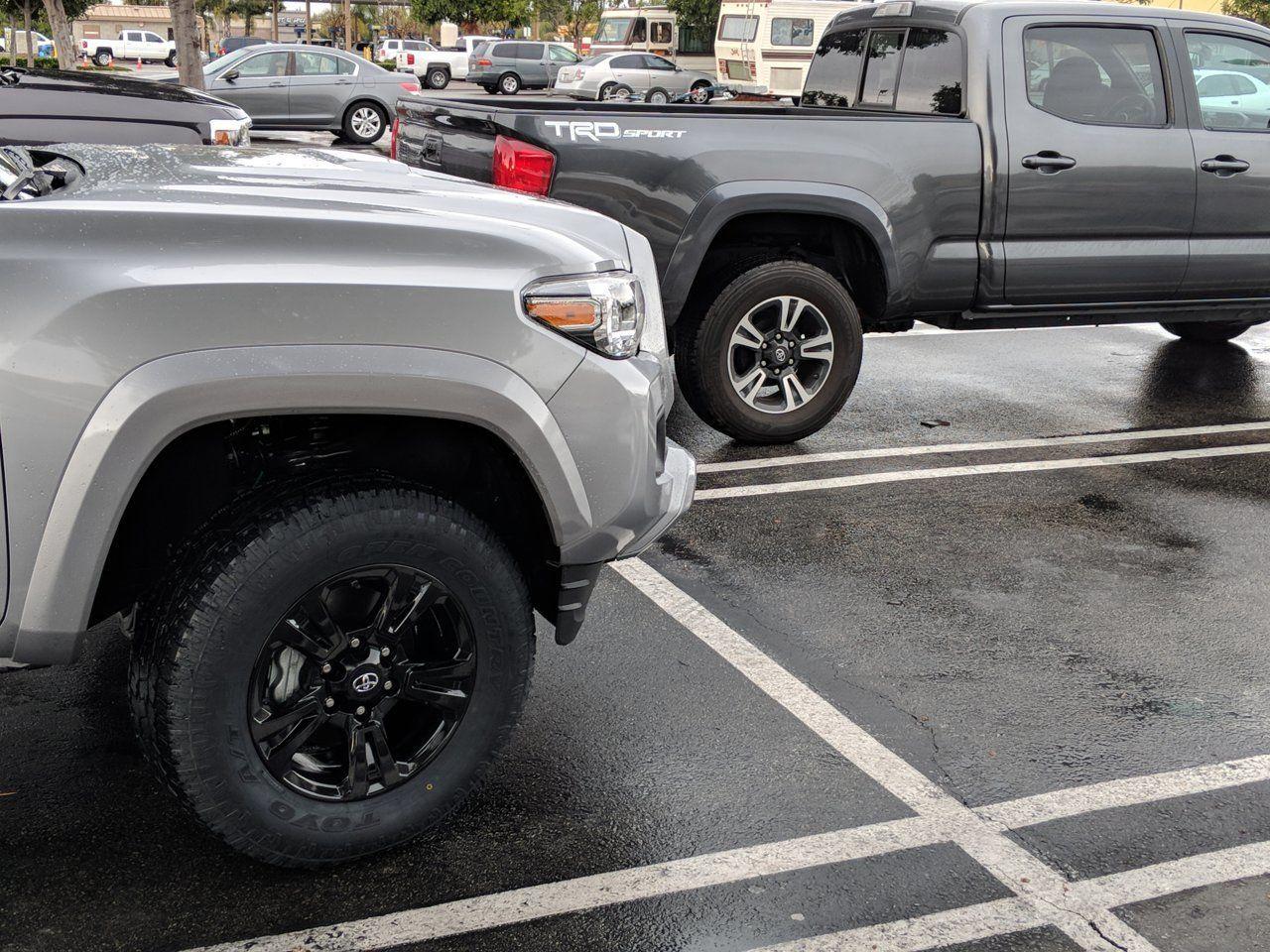 2018 Trd Sport Wheels Painted Black Trd Aftermarket Wheels Black Wheels