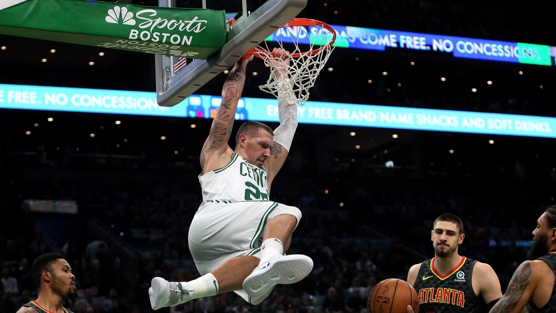 'It's fun out there.' Celtics' winning streak reaches