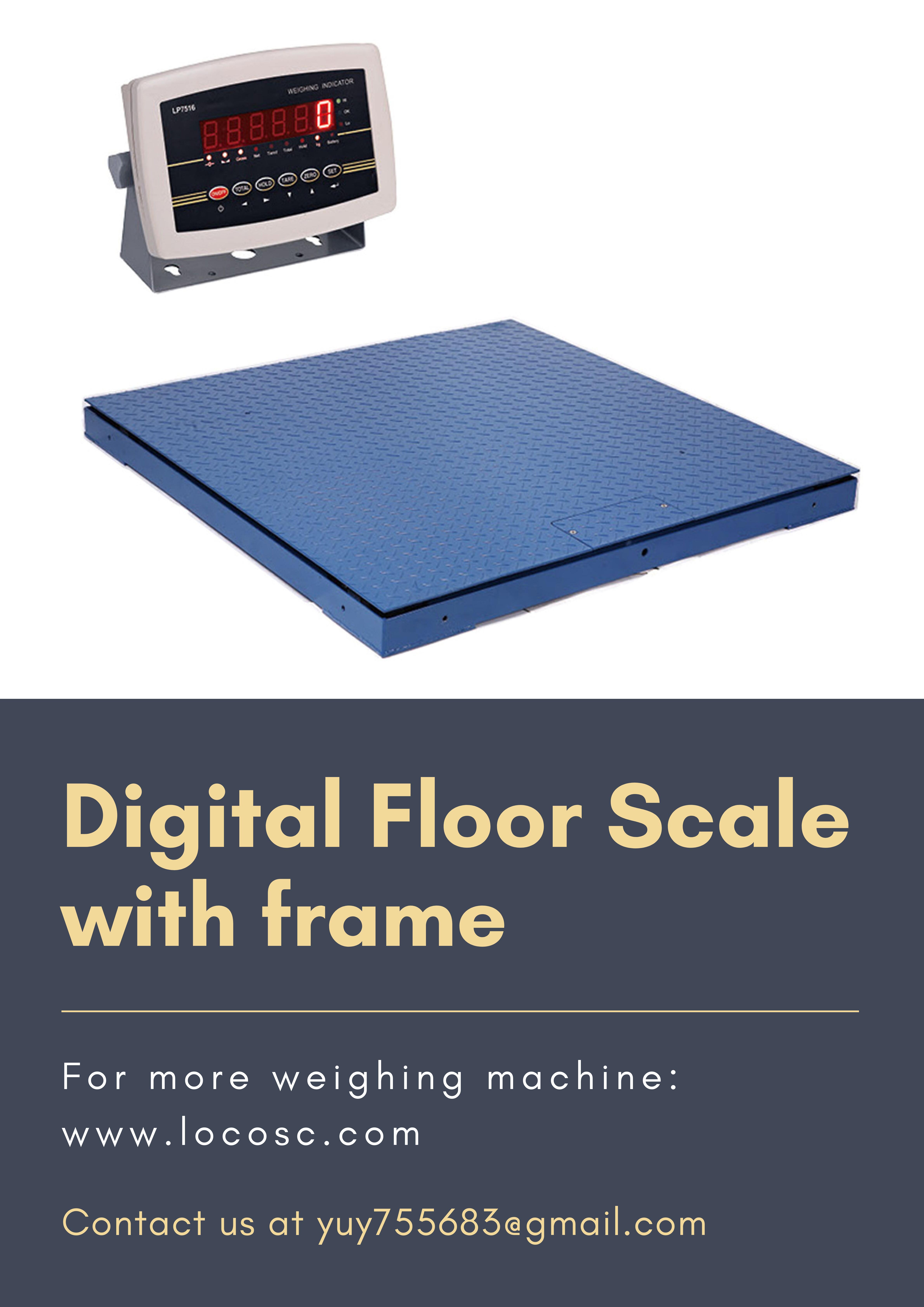 [Hot Item] Digital Heavy Duty Industrial Weighing Floor Scale