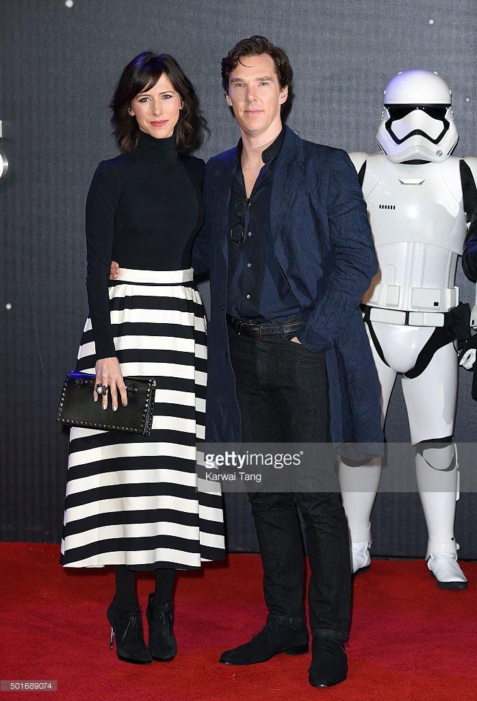 ニュース写真 : Sophie Hunter and Benedict Cumberbatch attend the...