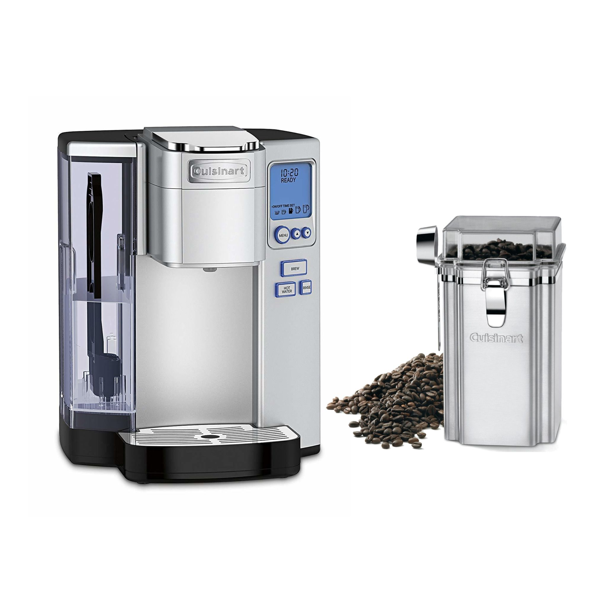 Home in 2020 Coffee canister, Single cup coffee maker