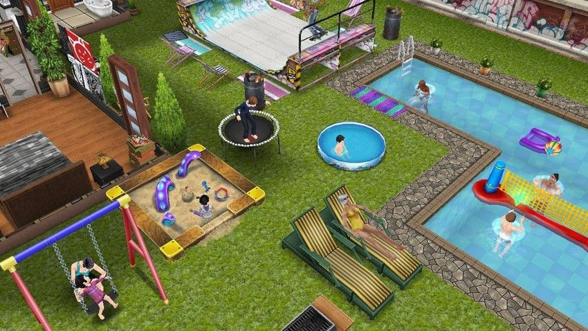 Create Your Town With Endless Possibilities In The Sims Freeplay A Mobile Game Available On Ios And Android