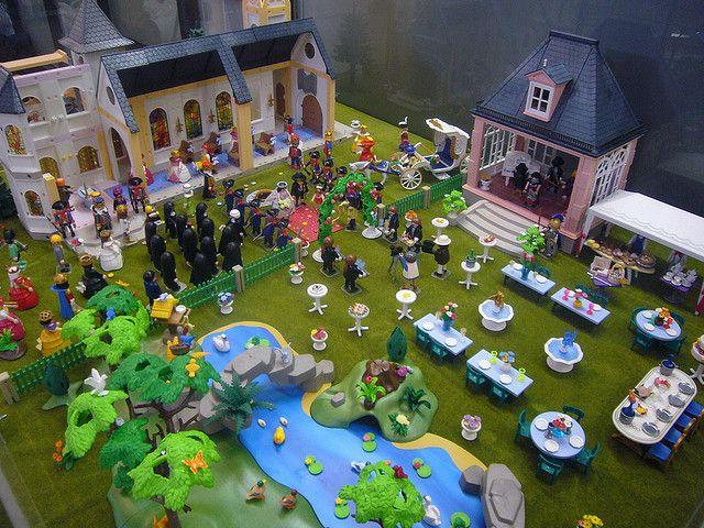 diorama boda playmobil  playmobil spieltisch playmobil