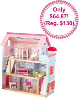Fully Furnished KidKraft Dollhouse, Kids Dollhouse, Dollhouse Furniture,  Amazon Deals, Amazon Toy
