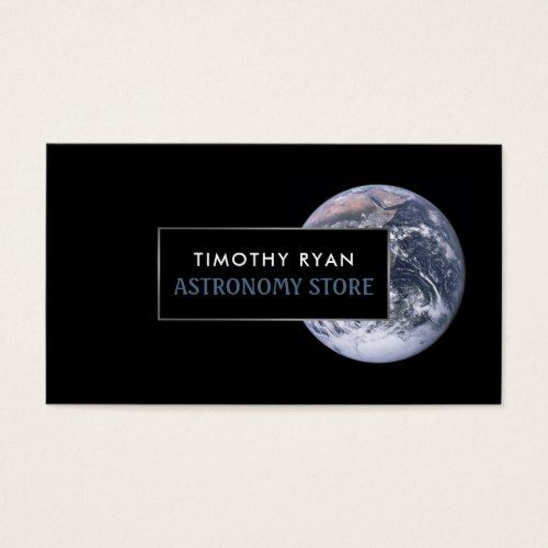 Planet Earth Astronomy Business Card
