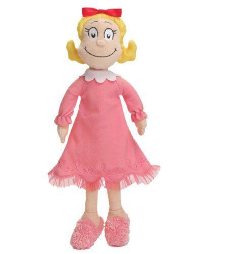 """Disney Cindy Toddler Doll H15: Dr. Seuss Cindy Lou Who Plush 15"""" $17.99"""