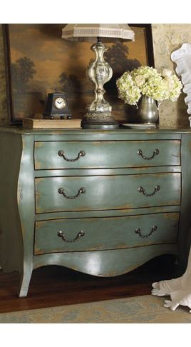 Dressers Chests And Bedroom Armoires I D Like To Try Making This Love The Color
