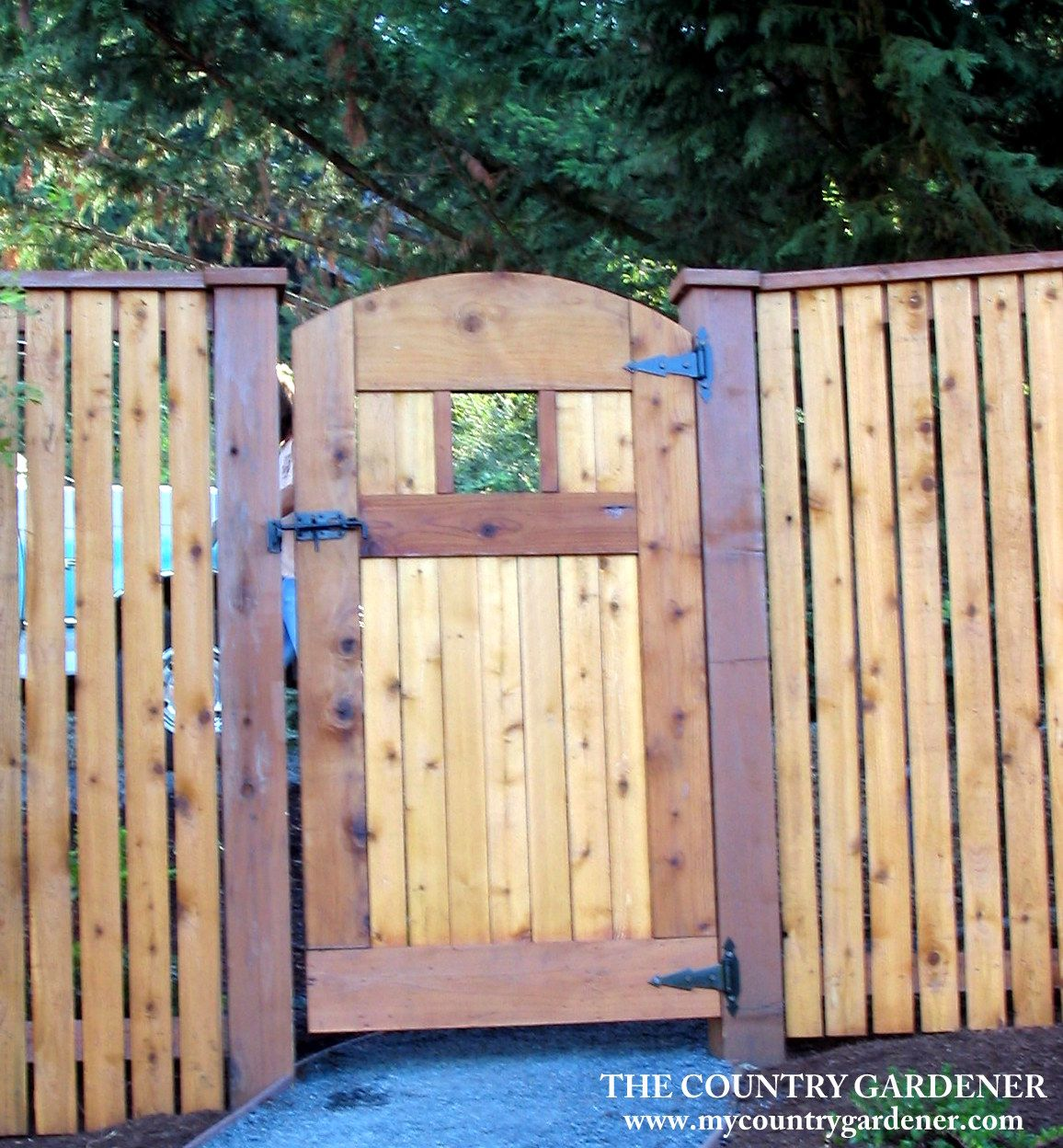 Two tone fence and gate our garden structures pinterest two tone fence and gate baanklon Images