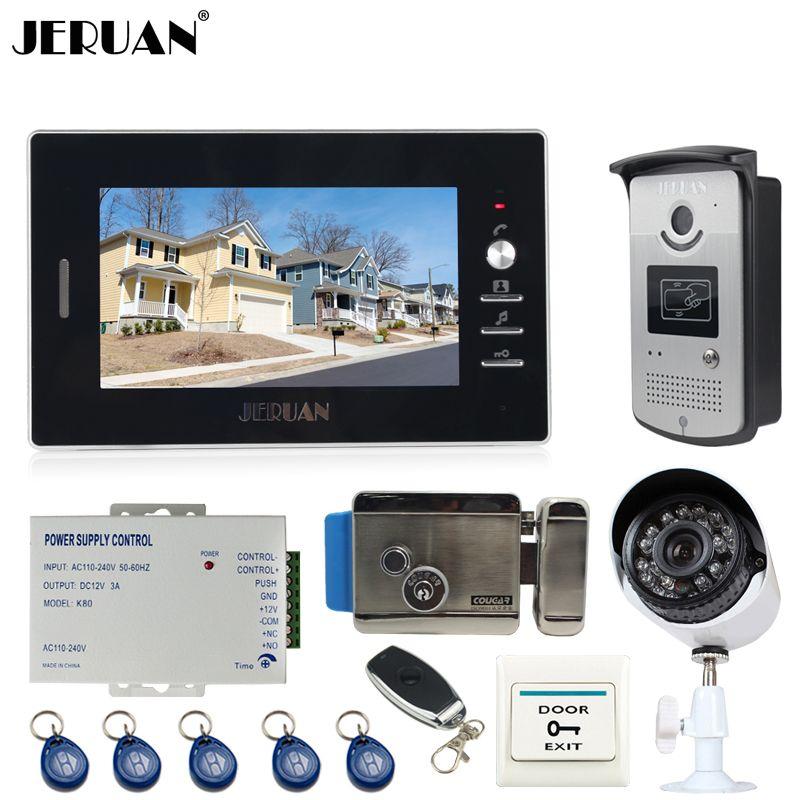 JERUAN Domu 7 ''LCD Wideo Telefon drzwi Entry