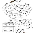 Word Families Word Sort Sampler: _at & _ot (Level K-2