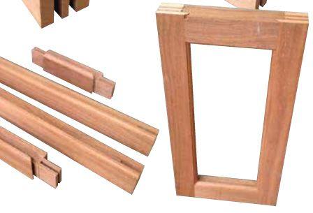 Hardwood Timber Stickform Wooden Window Door Kids