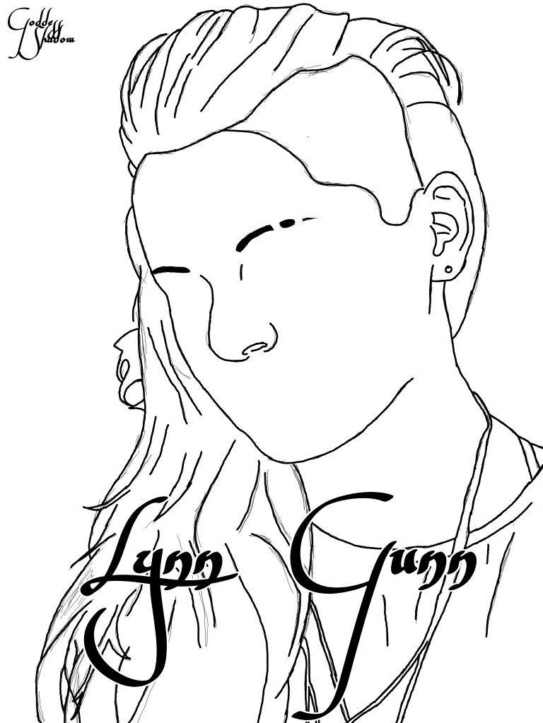 FanArt (drawing) of Lynn Gunn