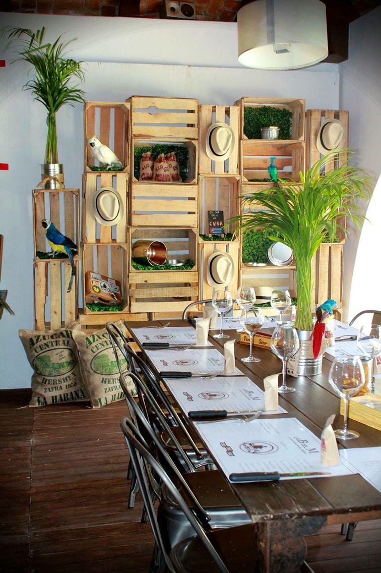 Transformaci N Total Fiesta Cubana Escenario Mobiliario  # Muebles Agustin Moana