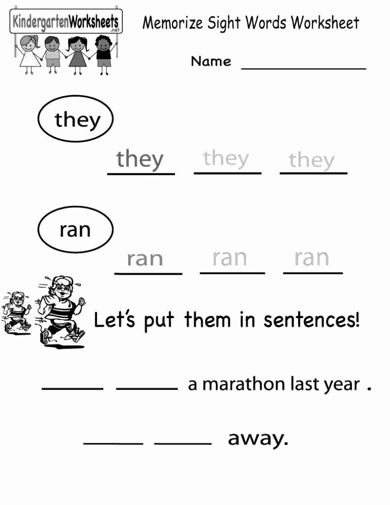 Welcome To Kindergarten Coloring Sheet Unique 026 First Grade Sight Word Coloring Pages Words Worksheets Sight Word [ 1024 x 791 Pixel ]