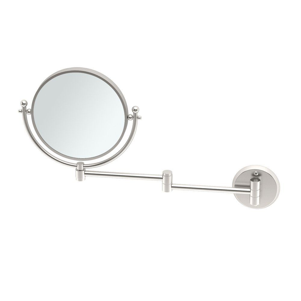 Gatco 1426 Wall Mounted Premier Swing Arm Mirror Satin Nickel You Can Find More Details By Visi Antique Mirror Wall Lighted Wall Mirror Modern Mirror Wall