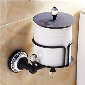 Toilettenpapierhalter Antik Messing ORB Badzubehör | Badezimmer ...