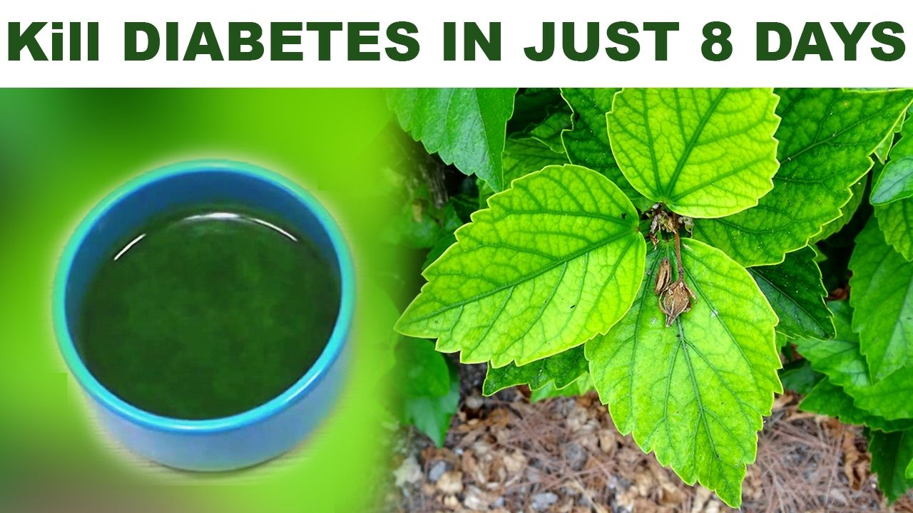 Kill Diabetes Forever In Just 8 Days Easy And Faster Home Remedy