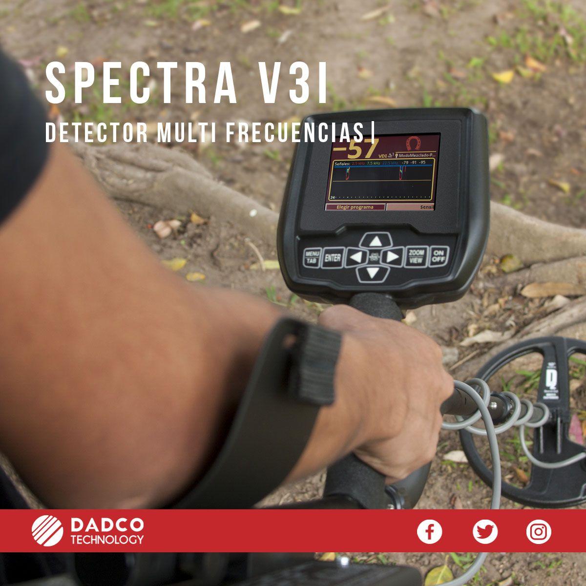 El Spectra V3i De La Marca Whites Es Un Detector Con Tecnologia Vlf Y Trabaja Con Multiple Frecuencia Al Trabajar Con Las 3 Detector De Metales Tipos De Suelo