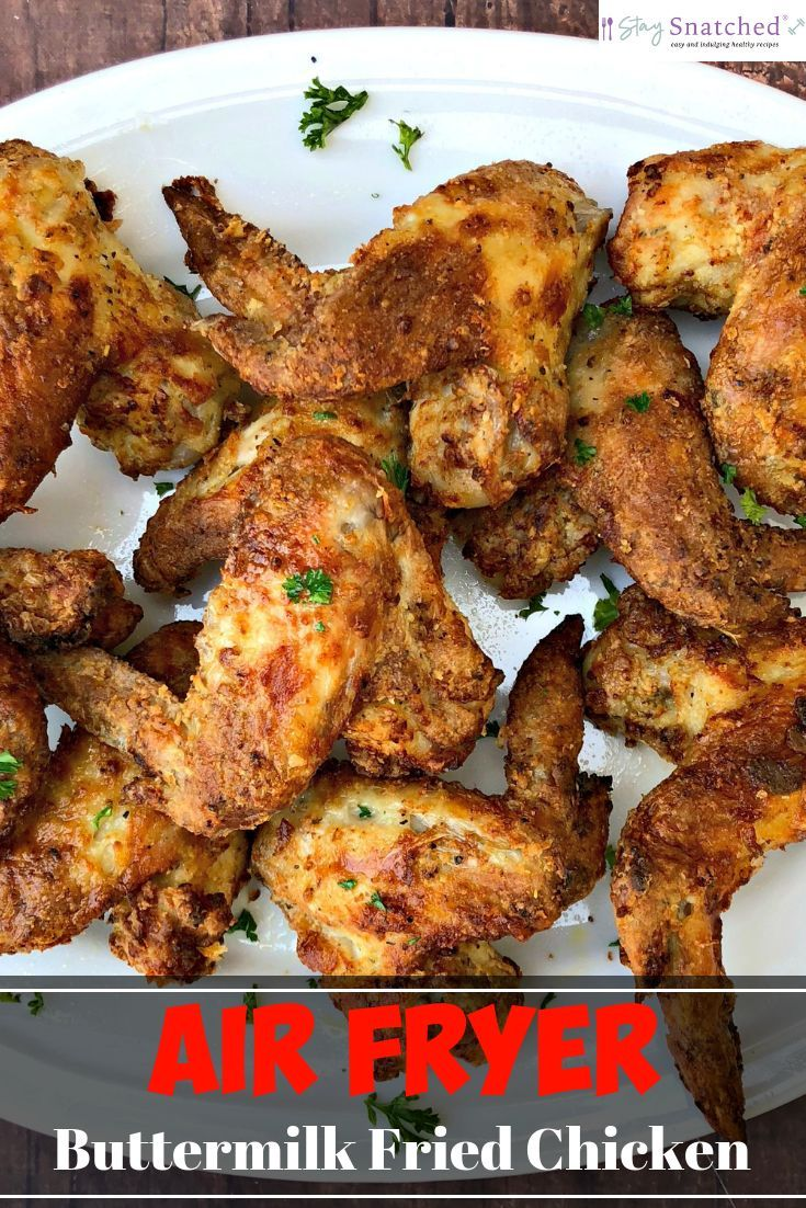 Air Fryer Traditional Southern Soul Food Buttermilk Fried Chicken Is A Quick And Eas Southern Recipes Soul Food Fried Chicken Recipes Air Fryer Recipes Chicken