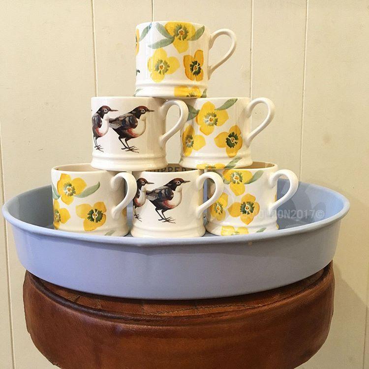 11 vind-ik-leuks, 1 reacties - La Don-Don (@ladondonarnhem) op Instagram: 'Nu op voorraad. Now in stock. New #EmmaBridgewater Baby mugs. #Pottery #Babymug #Wallflower…'